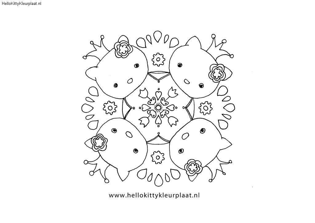 Hello Kitty Mandala kroon