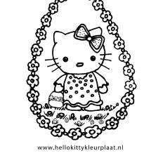 hello-kitty-paasei-met-paaseieren-en-bloemen