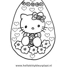 paasei-kleurplaat-hello-kitty-met-hartjes-en-bloemen