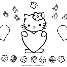 hello-kitty-kleurplaat-hartjes
