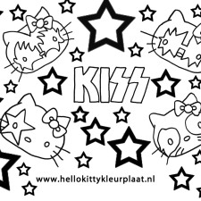 hello-kitty-kleurplaat-kiss