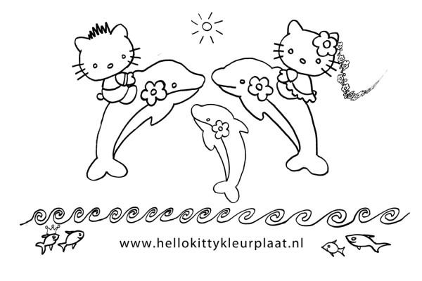 "Search Results for ""Hello Kitty Kleurplaat Dolfijn"" – Calendar ..."