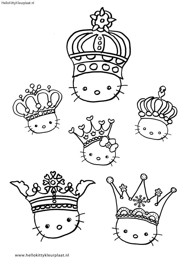 kleurplaat-kroon
