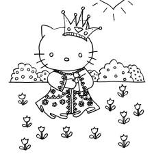 kleurplaat-prinses
