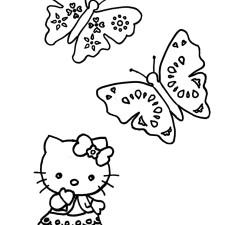 kleurplaat-vlinder