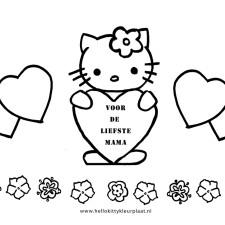 moederdag-kleurplaat-hello-kitty