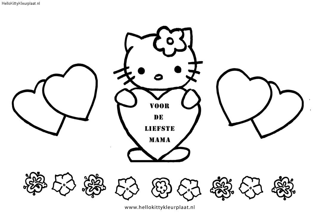 Kleurplaten Met I Love You.Beertje Met Hartje I Love You Kleurplaat Valentin Ausmalbilder