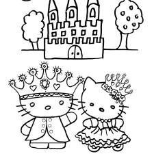 prinsessen kleurplaat-koning-en-koningin