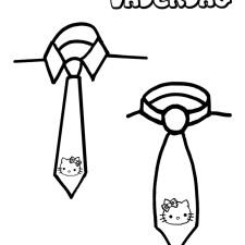 kleurplaat-vaderdag-stropdas