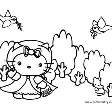 hello-kitty-kleurplaten-roodkapje