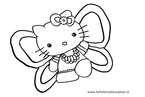 Kleurplaten Hello Kitty New Calendar Template Site Pictures to pin on ...