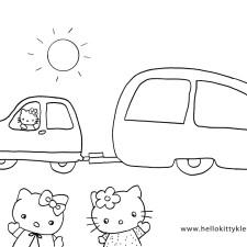 kleurplaat-vakantie-hello-kitty-media