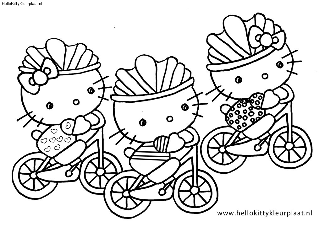 pirate hello kitty coloring pages - photo#13