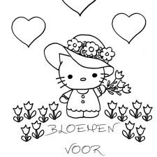 vaderdag-kleurplaat-bloemen