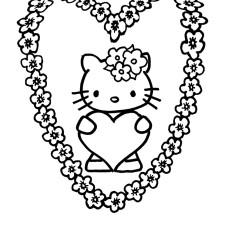 Onwijs Hello Kitty Kleurplaat DM-61